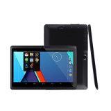 7 polegadas Allwinner A33 Android 4.4 Quad Core Tablet PC com 1GB 16GB de armazenamento Duas câmeras de tela HD