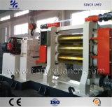 Drei Rollen-Gummikalender-Maschine für Berufsgummiblatt-Produktion