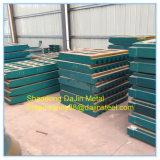 Plaques en acier au manganèse élevée le port de pièces de rechange--Plaque de broyeur à mâchoires