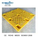 1000X1000 de paletes de plástico de HDPE, Pavimento palete, nove pés Palete Palete leve