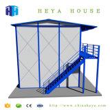 Stahlkonstruktion, die mehrstöckiges vorfabriziertes Haus in Algerien aufbaut