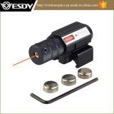 Pistola de Caminhadas táctico pistola de ar comprimido Red Dot Mira laser