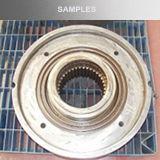 Macchina del rivestimento del laser della fibra del metallo di asse con il sistema di controllo di CNC