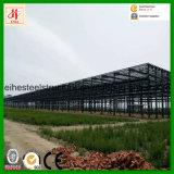 Здание пакгауза 2016 тяжелое промышленное самомоднейшее стальное полуфабрикат модульных рамок