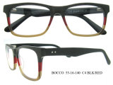 Vente en gros Cadres de spectacle de lunettes en acétate de bois fait main de qualité supérieure