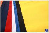 O poliéster Taffeta sarjado para vestuário/capa/sapatos/Bag/Case 100g