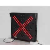 Semaforo della stazione LED del tributo dell'indicatore luminoso della freccia di verde della croce rossa