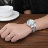 Montre-bracelet de luxe de femmes de cadeau de bijou de diamant de Belbi