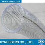 Tubo trasparente Braided di prezzi bassi di alta qualità della fibra del PVC