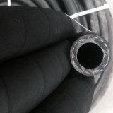 Boyau en caoutchouc noir à haute pression pour le boyau industriel de l'eau