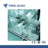 319mm Gehard glas van 300X300 aan 3300X4500mm met de Opgepoetste druk van Silkscreen van de Gaten van Randen