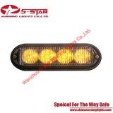 4W LED Super brillante luz de advertencia de la rejilla de montaje en superficie