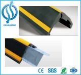 Protetor de canto de borracha de retentor de aço da parede reflexiva de EPDM