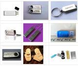 Máquina portátil de marcação a laser de fibra para disco rígido USB de plástico