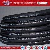 Boyau hydraulique en caoutchouc de qualité de SAE R1at
