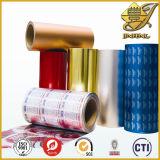 Lámina de aluminio de color para el empaquetado de alimentos