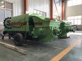 Bomba de Concreto Estacionária Dawin Saintyol proporcionam um alto desempenho de bombeamento com baixas emissões