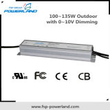 Im Freien 100~135W Dimmable wasserdichter LED Fahrer mit Cer-Zustimmung