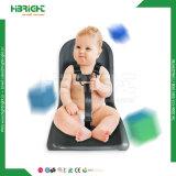 Carretilla de acero de las compras del cinc del supermercado con el asiento suave del bebé