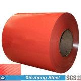 A cor revestida galvanizou/bobina de aço PPGI/PPGL de Aluzinc para a telhadura
