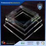 Transparente claro y colorido molde acrilico hoja con precio competitivo