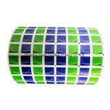 Metalizado papel de aluminio para toallitas de limpieza gafas, lentes de papel de embalaje de aluminio/Pantalla paños de limpieza