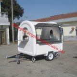 速い移動式コーヒー販売のカートの食糧バイクのトラック