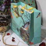 Papel de color Bolsa de compras para el envasado de regalo o vestido de novia