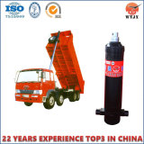 Tipo Hyva do cilindro hidráulico telescópico para caminhão de caixa basculante