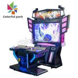 Simulateur de l'intérieur du parc coloré heureux jeu de baston arcade de l'Amusement la lutte contre le cabinet de la machine