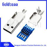 USB 3.0 ein Typ männlicher Verbinder-Lötmittel-Typ Verbinder