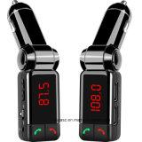 Trasmettitore di Bluetooth FM con chiamare Handsfree del giocatore di MP3 dell'automobile ed il USB doppio