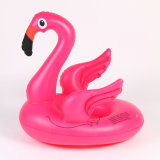 PVC 팽창식 분홍색 홍학 아기 시트