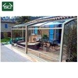 Складной алюминиевый корпус в стиле виллы патио /алюминиевая рама стеклянном доме