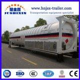 40pés 40.44CBM T75 LNG/Lo2/LCO2/Lin/Lox/lar/amônia líquida/líquidos criogénicos de argônio Recipiente do tanque de armazenamento de ISO