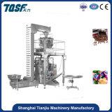 Fábrica de Xangai Tj-420z doces automática e os grãos de carne de pesagem e máquina de embalagem