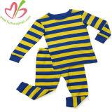 100% algodón traje de los niños de Navidad Juego de ropa de bebé dormir monos de la banda de manga larga para niños