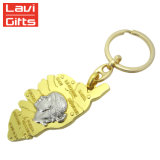 주문 금속 열쇠 고리 금관 악기 앙티크, 금관 악기 도금 열쇠 고리 금