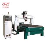 5つの軸線のルーター5の軸線CNC機械3D CNC機械4軸線を切り分ける回転式木製のルーターの4軸線CNCの泡