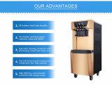 Preço grossista 3 sabores tipo de piso gelado comercial máquina para venda