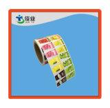 Четыре печать высококачественных бумажный ярлык/Индивидуальные наклейки