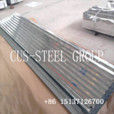 Complet sur le disque 850mm Zink ondulé Roofing/la plaque de métal en feuille de carton ondulé galvanisé