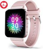 Dames Smart Watch voor Android iOS-telefoons Heart Rate Sleep Monitor Fitness Tracker 1.54 inch kleuren touchscreen Smartwatch waterdicht Stappenteller