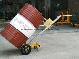 Beweglicher manueller Aufzug-LKW der Trommel-450kg mit niedrigem Preis, Miniöl-Trommel für Lager De450d