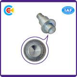 CNC van de Producten van de Bevestigingsmiddelen van de Schroef van het Koolstofstaal Schroef Zonder hoofd