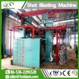 Tipo de Cadena Colgante continua el cilindro de gas Granallado máquina para la limpieza de la roya