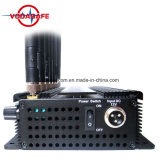 8 полос мобильного телефона для подавления беспроводной сети 3G, 4glte сотовые, GPS, кражи Lojack, 8 антенны сигнал блокировки всплывающих окон для 2g+3G+2.4G+кражи Lojack+Gpsl1+VHF+UHF (давления3060)