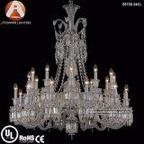 24 de lichte Lamp van de Tegenhanger van de Kroonluchter van het Kristal van het Baccarat voor Binnenhuisarchitectuur