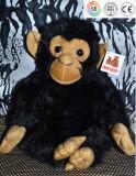 Juguete relleno aduana de la felpa del orangután