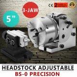 BS-0 Precision cabezal divisor con 5 3-Jaw Chuck